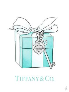 Fashion illustration gift box fashion wall art fashion sketch fashion print fashion poster The Effective Pictures We Offer You About Fashion editorial A quality picture can tell you many things. Tiffany E Co, Azul Tiffany, Tiffany Blue, Tiffany Jewelry, Fashion Wall Art, Fashion Prints, Fashion Fashion, Fashion Posters, Paper Fashion