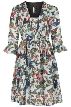 Garden Floral Print Dress - Sale & Offers- Topshop USA