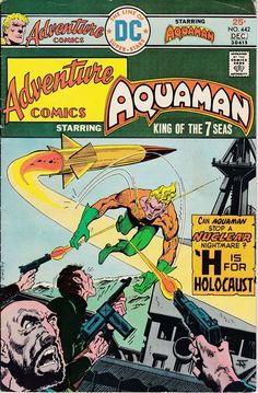 Adventure Comics 442 1938 1st Series December 1975  DC