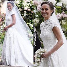 Pippas Wedding, Wedding Styles, Wedding Gowns, Wedding Photos, Pippa Middleton, Couture Dresses, Bridal Looks, Couture Fashion, Giles Deacon