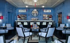 One of London's most sought-after destinations since it opened in 2000, the Blue Bar has completed a six-month refurbishment and is set once again to spearhead London's bar scene with the most sophisticated, colourful cocktails in town.