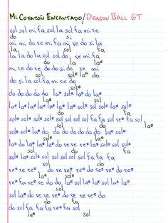 Notas Musicales: Mi Corazòn Encantado / Dragon Ball GT / Notas Musicales + Video Tutorial Piano Songs, Piano Music, Dragon Ball Gt, Dbz Gt, Music Mood, Yuu, Ukulele, Stranger Things, Tips