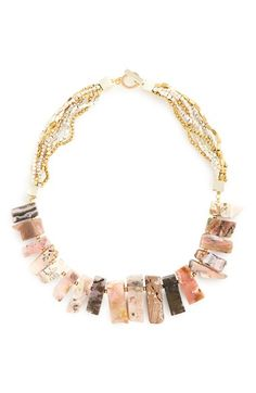 Panacea Stone Collar Necklace available at #Nordstrom