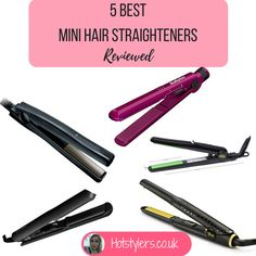 Best Mini Hair Straightener Guide via Ceramic Hair Straightener, Best Hair Straightener, Hair Straightening Iron, Flat Iron Short Hair, Medium Hair Styles, Curly Hair Styles, Long Curly Hair, Wavy Hair, Thick Hair