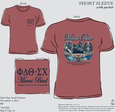 Phi Delta Theta & Sigma Chi Biad Shirts #morganrow #geneologie #sigmachi #phidelt