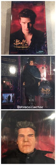 """Sideshow Collectibles (1:6 Scale) 12"""" Buffy the Vampire Slayer Figure - Angel. #btvscollector #btvs #buffy #buffythevampireslayer"""