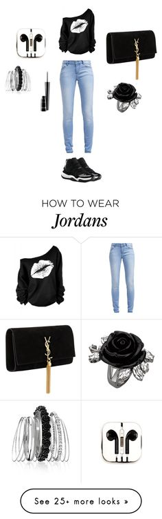 """""""Untitled #68"""" by sparkledavis on Polyvore featuring TOM TAILOR, NIKE, Yves Saint Laurent, PhunkeeTree, Avenue and MAC Cosmetics"""