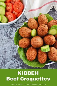 The amazing Kibbeh recipe with bulgur, step away from your boring meatballs to this Lebanese/Syrian Kibbeh recipe. Crunchy bulgur meat enclosing a luscious ground meat filling a great make-ahead recipe for parties and gatherings. Easy Dinner Recipes, Holiday Recipes, Chicken Gyro Recipe, Dinner Dishes, Side Dishes, Lebanese Recipes, Lamb Recipes, Middle Eastern Recipes