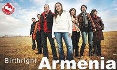 """A small, ancient people, dispersed across the world, hounded by genocide and tragedy, with a successful global Diaspora that remains loyal to its ancestral homeland. Sound familiar? The  Armenian Diaspora's """"Birthright Armenia"""" program brings young people between the ages of 20 and 32 with at least one Armenian grandparent to the country for visits ranging from two months to a year."""
