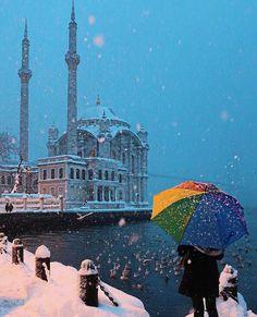 winter mood⛄❄Ortakoy,Istanbul // Photography by Tuğçe Karaman ( photo. Istanbul City, Istanbul Turkey, Winter Photography, Travel Photography, Destinations, Turkey Travel, Best Cities, Eastern Europe, Oh The Places You'll Go