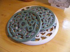 Onderzetter uit grootmoederstijd www.detijdvantoen.net Brocante & Styling