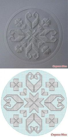 This Pin was discovered by Ela Embroidery Designs, Embroidery Patterns Free, Cross Stitch Patterns, Bargello Needlepoint, Needlepoint Stitches, Needlework, Hardanger Embroidery, Cross Stitch Embroidery, Hand Embroidery