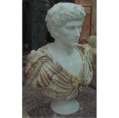 AFD Home Multi Color Marble Bust With Pedestal Statue 10806542 - AFD Home Multi Color Marble Bust With Pedestal Statue 10806542SKU: 10806542Manufacturer: AFD HomeCategory: Architectural Home AccentsSub-Category: MarbleAssembly Required: No Product Dimensions: 31H