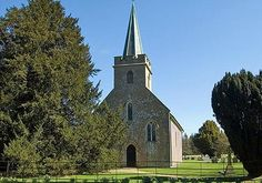 a church in Steventon, Hampshire  Jane Austen lived in this village from 1775-1801