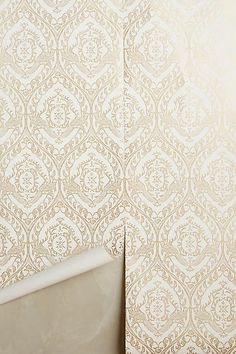 Tiled Crest Wallpaper - anthropologie.com