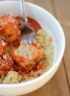 Gluten-Free Quinoa n' Meatballs - Fit Foodie Finds