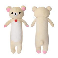 Rilakkuma Korilakkuma Plush Doll Giant Long Body Cushion 130cm 51in #Rilakkuma