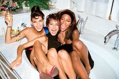 Linda, Christy, and Naomi. Classic. Photo: Roxanne Lowit/Trunk Archive