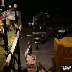 The Bolex used to film the short stop motion film Orfeus