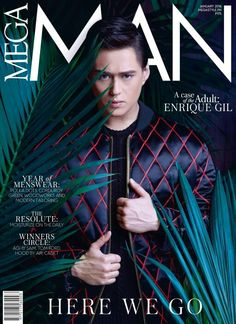 Enrique Gil for MegaMan Magazine January 2016 issue ❤❤❤ #enriquegil #megamanmag #handsome #classic #lizquen #best #xander #forevermore