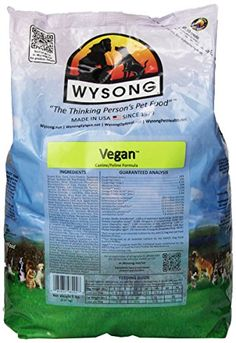 Wysong Vegan FelineCanine Formula Dry DogCat Food  5 Pound Bag -- Learn more by visiting the image link.-It is an affiliate link to Amazon.