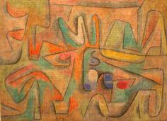 Paul Klee 'Flower Terrace'