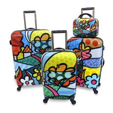Britto™ by Heys Luggage Collection - Bed Bath & Beyond. Love these but am afraid they would get all banged up!