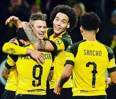 - Just A Game, Football Players, The Magicians, Sport, Soccer, Hug, Group, Marco Reus, Borussia Dortmund