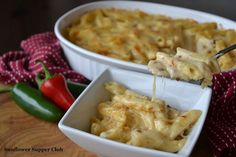 White Cheddar Chipotle Macaroni & Cheese with Caramelized Onions--YUMMO!! I am SOOO trying this SOON!!!