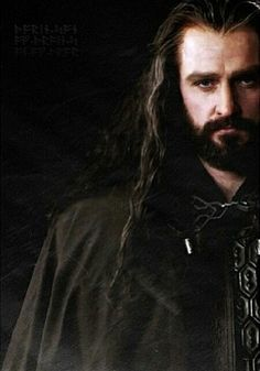 """The incredibly expressive and beautiful face of Richard Armitage as Thorin Oakenshield in """"The Hobbit."""""""