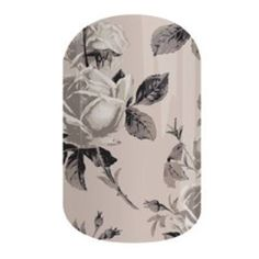 Timeless, a lovely monochrome design.  #timelessjn Jamberry nail wrap available at https://jenniferhq.jamberry.com