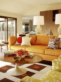 Stylish Mid Century Home by Designer Palmer Weiss   Interior Design Files