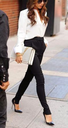 Chic business attire