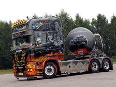 Cool Smokey and the Bandit theme. | Beautiful Scania http://showtruckbilder.de/
