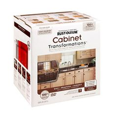 Cabinet Transformations Light Kit Product Page This product transformed my ugly builder grade brown cabinets into an English Cream Delight! Husband and I are so happy and we did it ourselves as well!
