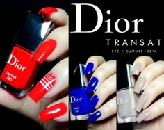 Dior Manucure Transat Ete / Summer 2014 collection