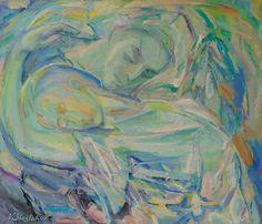 UN RÊVE / Dimensions : 100 cm x 95 cm / Techniques de réalisation : Huile / Date de création : 2002 / Support : Toile / Tarif : http://www.art-acquisition.com/fr/content/un-rêve