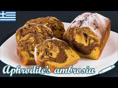 A delicious, moist marble cake with butternut squash puree and dark chocolate. Chocolate Marble Cake, Squash Puree, Butternut Squash, Banana Bread, Make It Yourself, Baking, Breakfast, Easy, Desserts