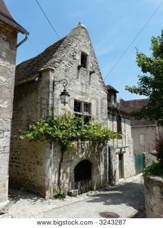 French stone house