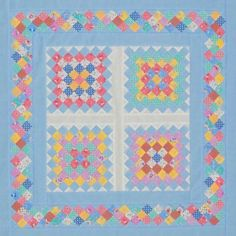 http://www.allpeoplequilt.com/quilt-patterns/table-runners/scrappy-strip-pieced-squares
