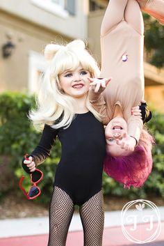 DIY Halloween Costume: Lady Gaga and Treasure Troll
