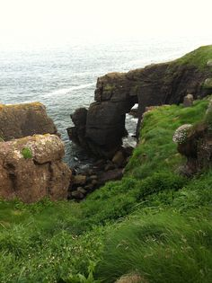 Cliffs in Dunmore East, Waterford  Close to the Granville Hotel