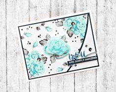 RL Design - Invitatii si felicitari Handmade : You are simply Amazing - Altenew April Inspiration Challenge