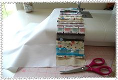 Quilted Placemats - good binding tutorial