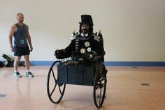 10 Clever Halloween Costumes that Incorporate Amputations and Wheelchairs | Mental Floss