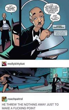 Dc Memes, Funny Memes, Hilarious, Funny Stuff, Image Tumblr, Im Batman, Funny Batman, Batman Robin, Teen Titans