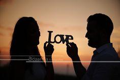 Una puesta de sol con amor: Macarena y Juan