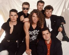 "INXS ""In the dark of night Those small hours I drift away When I'm with you"" By My Side; INXS"
