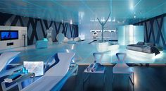 TRON futuristic furniture living room