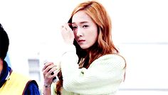 Jessica mygif snsd jessica jung jung sooyeon snsd jessica Girls 'Generation sicabrows